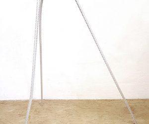 iron /plaster plaster sculpture